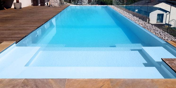 Goldmann Wellness Poolfarbe Eisbergblau