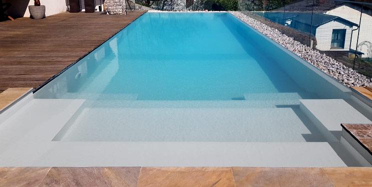 Goldmann Wellness Poolfarbe Grau